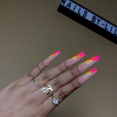 fredaosborneenjoy - 0 results for bright summer acrylic nails Drip Nails, Aycrlic Nails, Bling Nails, Toenails, Bright Summer Acrylic Nails, Neon Acrylic Nails, Acrylic Nail Designs For Summer, Nail Swag, Nagel Bling
