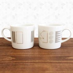 White Noise Mug Set $36 At Rare Device in SF