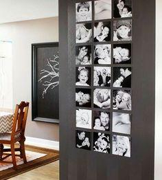 photograph wall <3