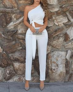 Ericdress Asymmetric Plain Dressy Sexy Vest And Pants Two Piece Sets Fashion girls, party dresses long dress for short Women, casual summer outfit ideas, party dresses Fashion Trends, Latest Fashion # Trend Fashion, Look Fashion, Fashion Outfits, Womens Fashion, Fashion Wigs, Fashion Clothes, Fashion Images, Fall Fashion, Latest Fashion
