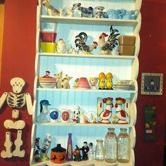 My kitchen kitsch shelf
