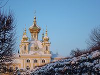Придворная церковь в Петергофе, Россия