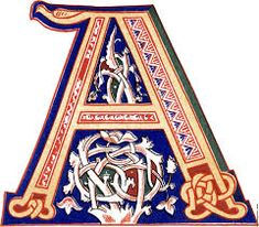 Risultati immagini per illuminated letters M