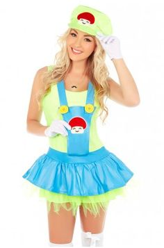 Want to buy a Superwoman Costume at affordable prices? Get Super Cool Costumes like Women's Super Mario Luigi Brothers Plumber Fancy Dress up Party #Costume from Costume in Australia at reasonable cost with just one click. Visit:
