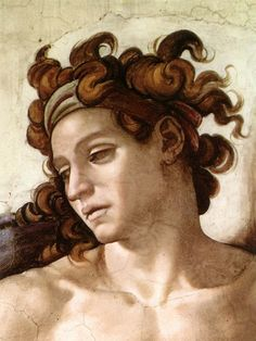 Michelangelo - Sistine Chapel - Ignudo (detail) - 1509 One can really learn of drawing by studying this artist's work! Michael Angelo Painting, Michael Angelo Art, Art Ninja, High Renaissance, Renaissance Paintings, Classical Art, Italian Art, Western Art, Art History