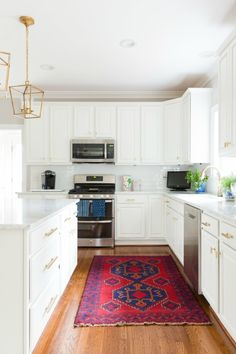 Our White And Gold Kitchen Makeover