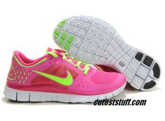 2013 New Womens Nike Free Run 3 Fireberry Electric Green Pro Platinum  Electric Green Shoes Sports Shoes Shop 030c95adf4