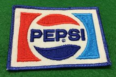 Pepsi Embroidered Patch by CoryCranksOutHats on Etsy