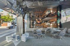 Communique headquarters café by DaeWha Kang Design, Seoul – Korea » Retail…