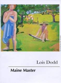 """""""Stephen Pace & Lois Dodd: Maine Masters"""" Arts and Video Series at The Barn Gallery, Aug 19, 2015."""