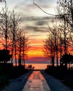 Thessaloniki, Greece, Celestial, Sunset, Outdoor, Greece Country, Outdoors, Sunsets, Outdoor Games