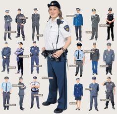 Politie in Europese landen