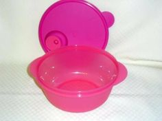 Tupperware Crystalwave 6.25 Cup Microwave Bowl Vented. Punch Pink by Tupperware. $18.95. Punch Pink. 6.25 Cup Capacity. Vented Cover. Microwave and Dishwasher Safe. Lifetime Warranty. Tupperware Crystalwave 6.25 Cup Microwave Bowl Vented.