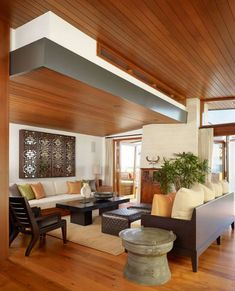 wooden ceiling design ideas