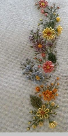 Embroidery On Kurtis Hand Embroidery Stitches Hand Embroidery Designs Embroidery Dress Embroidery Patterns Brazilian Embroidery Meraki Jelsa Blouse Designs Brazilian Embroidery Stitches, Hand Embroidery Videos, Embroidery Flowers Pattern, Hand Embroidery Stitches, Silk Ribbon Embroidery, Embroidery Hoop Art, Hand Embroidery Designs, Embroidery Techniques, Crewel Embroidery