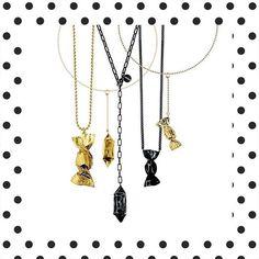 Dzień walki z aurą trwa! Tym razem osładzamy się Orską #buyonline #hushonline #hushwarsaw #newcollection #jewellery #accessories #gold #dilver #sweets #candys #orska #polishbrand #necklace #bracelet #earrings #details