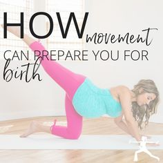 Wondering which movements are best for you during pregnancy, especially to prepare your body for birth? Click the image to learn more!