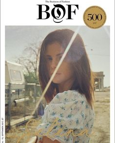 Thank you @bof for letting me be apart of the 5th annual #BoF500 print edition. Very grateful