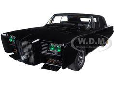 Black Beauty Green Hornet Black TV Series 1/18 Diecast Model Car Autoart 71546