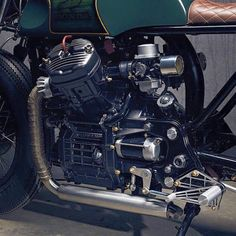 Honda CX500 by RetroGarage Café