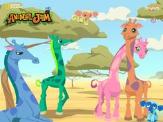how to get a girraffe in animal jam