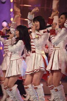 「第67回NHK紅白歌合戦」リハーサル時のAKB48。