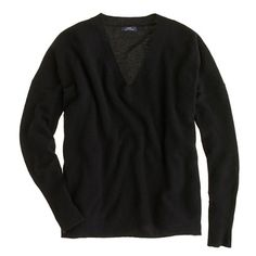 collection cashmere boyfriend sweater from J. Crew.  About two seconds away from ordering this.