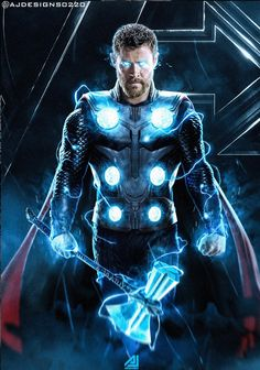 The Avengers Thor Most Popular Characters Photo collection And Awesome Wallpapers by WAOFAM. Marvel Fanart, Marvel Comics, Heros Comics, Marvel Heroes, Thor Marvel, Iron Man Avengers, The Avengers, Wallpaper Collection, Chris Hemsworth Thor