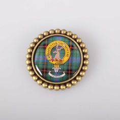 Davidson Clan Crest Brooch. Free worldwide shipping available