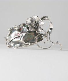 Cuff | Donald Marksz. Sterling silver