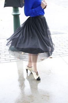 tulle skirt all grown up