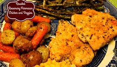 Sweet Tea and Cornbread: Roasted Rosemary Parmesan Chicken and Veggies!