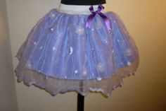 TUTU SKIRT PURPLE FAIRY NETTING HEN PARTY FANCY DRESS  SIZE 8 12 WEDDING BRIDAL