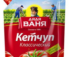 "Design of the identity of ketchup TM ""Uncle Vanya"""