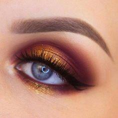 #HowToApplyEyeliner Eye Makeup Tips, Smokey Eye Makeup, Makeup Goals, Makeup Inspo, Eyeshadow Makeup, Makeup Ideas, Makeup Hacks, Makeup Products, Eye Brows