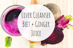 Liver Cleanser: Beet + Ginger Juice