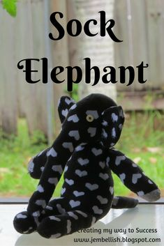 Sock Elephant Upcycle