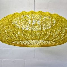 Tamborēti lampu abažūri (crochet lamp shades)