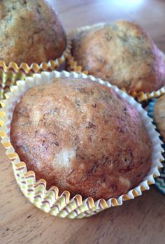 Muffins au pain aux bananes à l'érable #recettesduqc