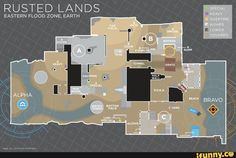 Rusted Lands is perfect for snipers and flankers. Use this guide for tips on choke points, Special/Heavy, Last Man Standing, & more! Love Destiny, Destiny Game, Flood Zone, Half Walls, First Person Shooter, The Marauders, Environmental Design, Trials, Light In The Dark