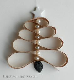 Homemade Essential Oil Diffuser Christmas Tree Ornament - this is great for any essential oil user - use pine or spruce essential oils and boost the Christmas scent on your tree! Find the full tutorial here: http://wp.me/pUbK5-vCt