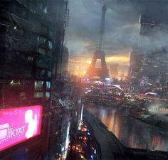 Bladerunner... in Paris?