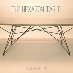 concrete furniture / concrete table  /  Instagram | @hardgoodsco www.hard-goods.com