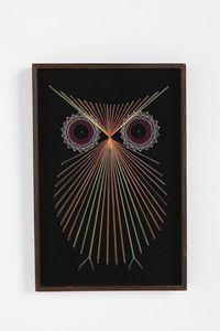 owl string art instructions