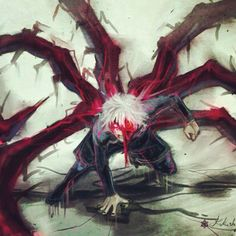 anime Kaneki Tokyo Ghoul art,so cool. Otaku Anime, Manga Anime, Anime Demon, Anime Art, Anime Guys, Manga Tokio Ghoul, Tokyo Ghoul Manga, Tokyo Ghoul Fan Art, Ken Kaneki Tokyo Ghoul