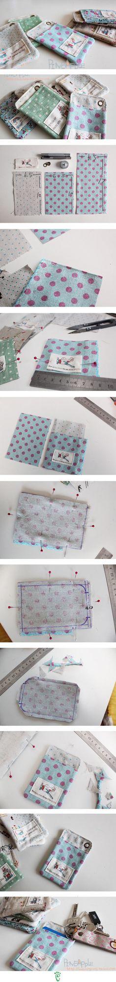 DIY Fabric Pouch diy craft crafts craft ideas easy crafts diy ideas diy crafts sewing easy diy home crafts diy sewing sewing crafts storage crafts