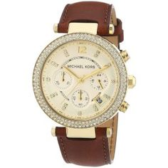 Michael Kors Women's Parker Brown Watch