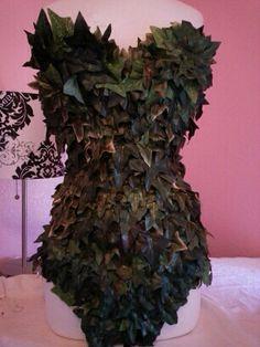 Uma Thurman Poison Ivy  leotard costume by parisianbridal on Etsy, $250.00