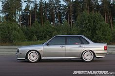 The Quattro Warrior: An Audi 80 Like No Other - Speedhunters Audi 80, Audi Cars, Classic Motors, Classic Cars, Rs4, Volkswagen Group, Modified Cars, Audi Quattro, Fast Cars