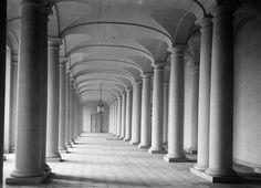 Grand vestibule, galerie des colonnes, Chateau de Compiegne